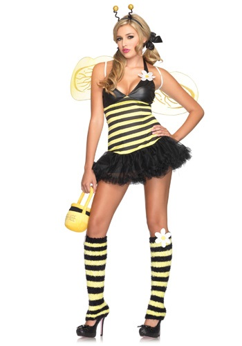 Disfraz de abeja en magarita sexy