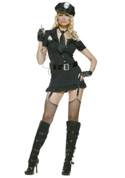 Disfraz de policía sucio sexy