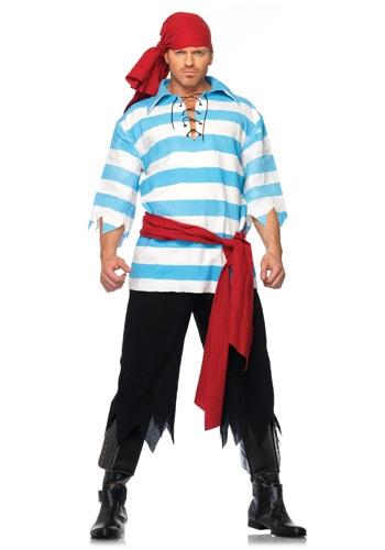 Disfraz de botín de pirata para hombre