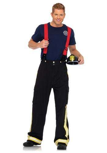 Disfraz de capitán de bomberos para hombre
