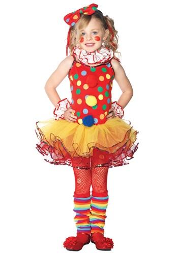 Disfraz infantil de payaso de circo
