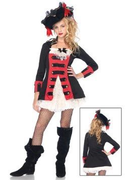 Disfraz de Capitán Pirata con Encanto Adolescente