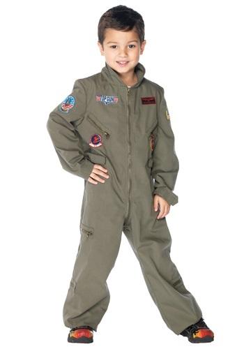 Disfraz de Top Gun para niño