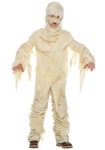 Disfraz infantil de momia