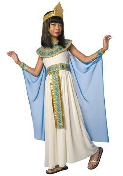 Disfraz de Cleopatra para niños