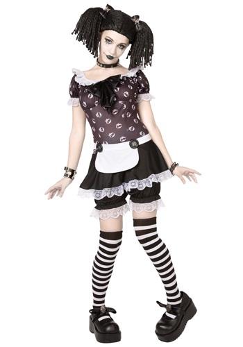 Disfraz de muñeca de trapo gótica