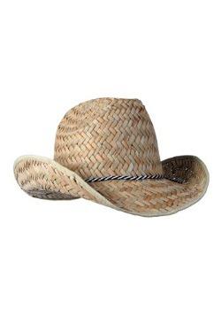 Sombrero de vaquero de paja