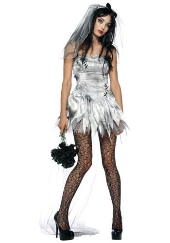 Disfraz de novia de zombi sexy