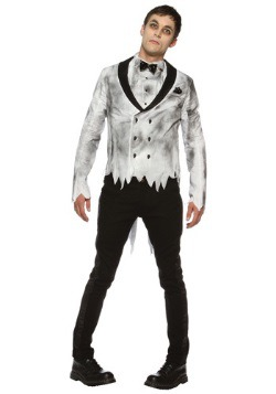 Disfraz de novio zombi