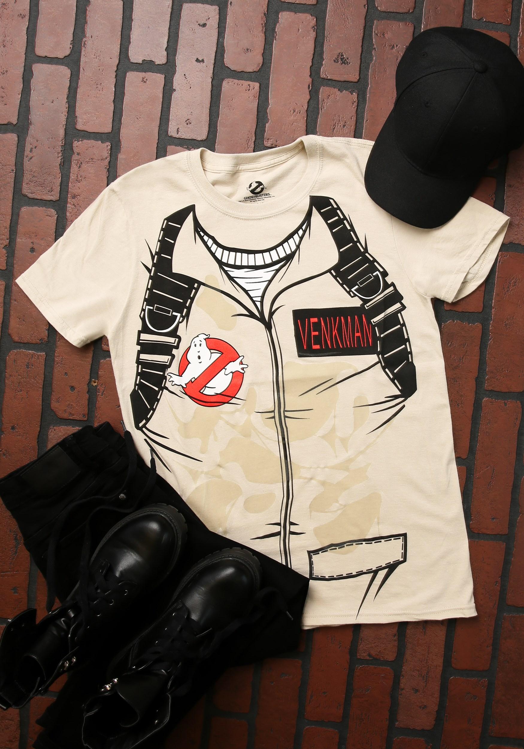 Batman Para Adultos de suplantación de identidad y tamaños de niños S GHOSTBUSTER T-Shirt venkam S GHOSTBUSTER