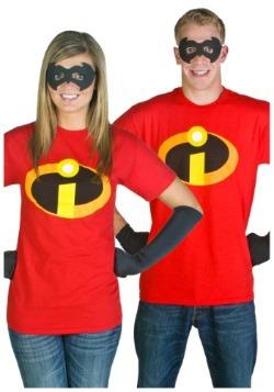 Disfraz de camiseta de los Increíbles para adulto