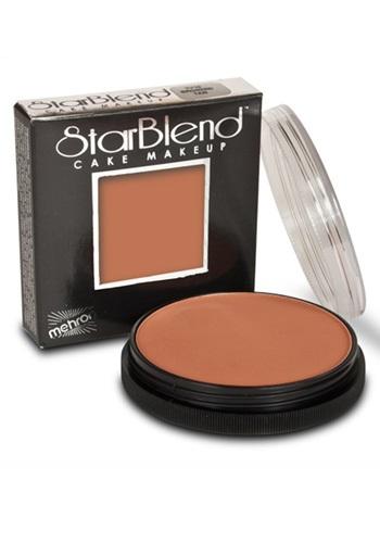 Maquillaje de piel bronceada en polvo
