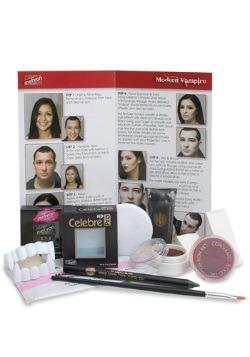 Kit de maquillaje de vampiro moderno