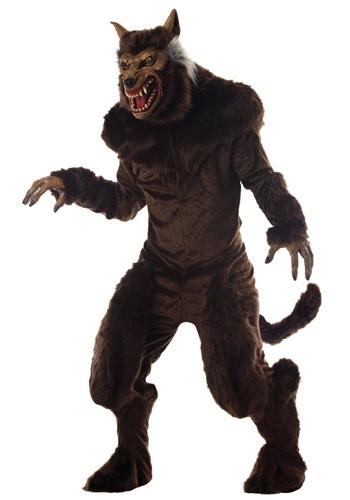 Disfraz de hombre lobo deluxe