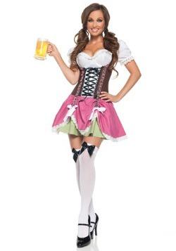 Disfraz de niña suiza