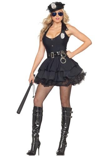 Disfraz de policía sexy con tutú