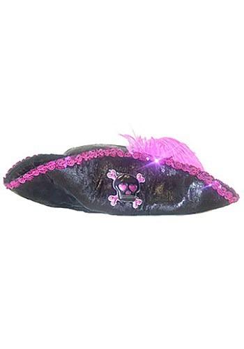 Sombrero de pirata del Caribe rosa para niños