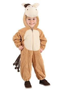 Disfraz de caballo de pana para niños pequeños