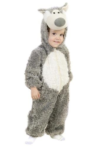 Disfraz del lobo feroz para niños pequeños