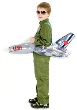 Disfraz de montar en avión