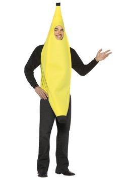 Disfraz de plátano para adulto
