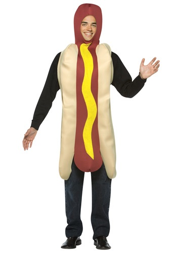 Disfraz de hot dog para adulto