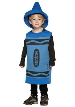 Disfraz de crayón azul para niños pequeños