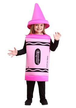 Disfraz de crayón rosa para niños pequeños