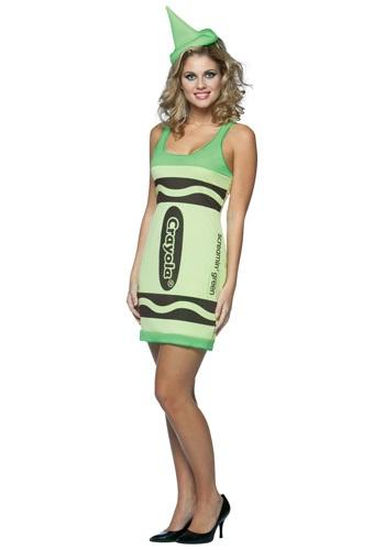 Vestido de crayon verde sexy