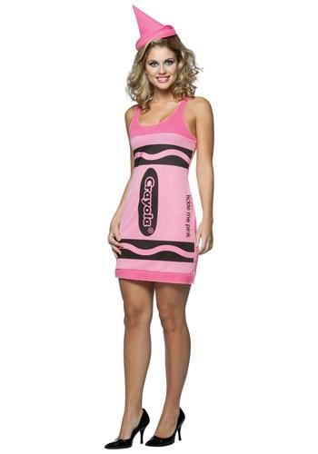 Vestido de Crayon sexy rosa