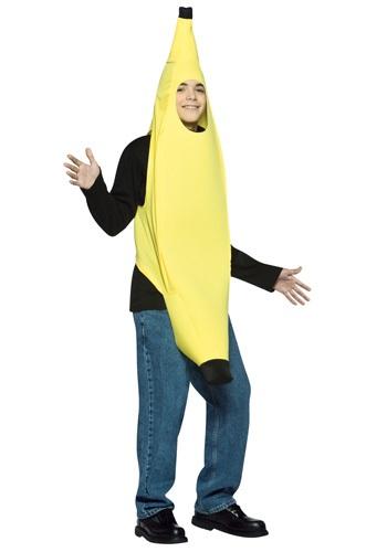 Disfraz de plátano para adolescente