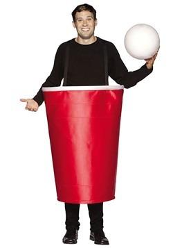 Disfraz de ping pong de cerveza para adulto