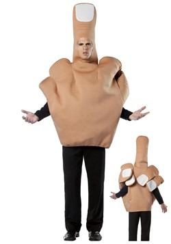Disfraz de dedo medio