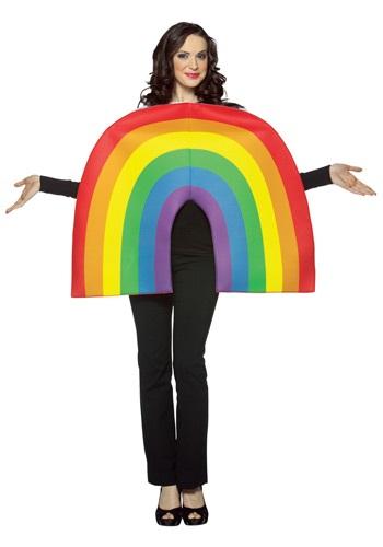 Disfraz de arco iris para adulto