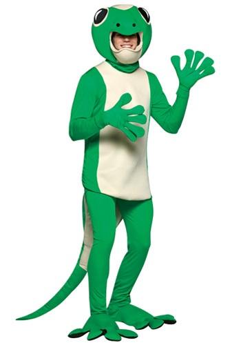 Disfraz de lagartija para adulto