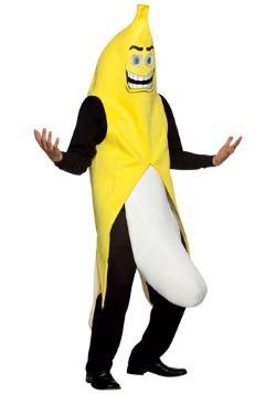 Disfraz de plátano exhibicionista