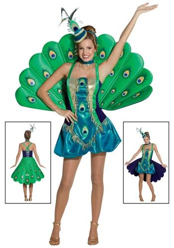 Disfraz Peacock Mujer