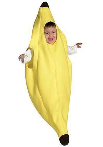 Banderines de banana bebé