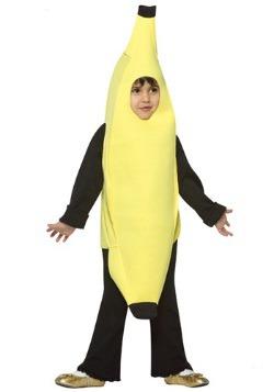 Disfraz de banana para niños pequeños
