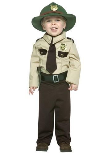 Disfraz de policía estatal para niños pequeños