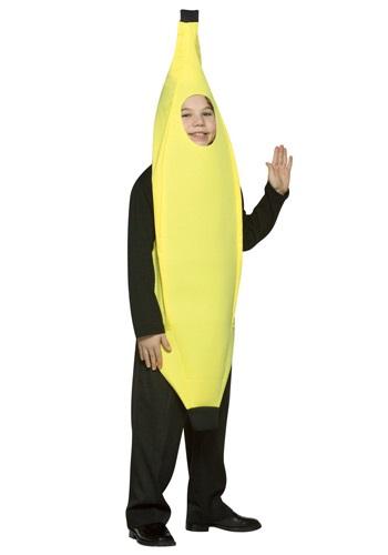 Disfraz de plátano para niños