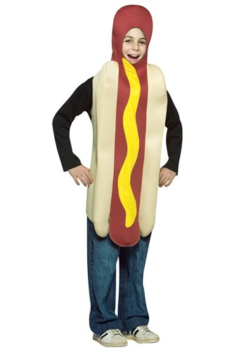 Disfraz de Hot Dog para niños