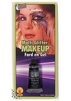 Maquillaje con brillantina de hadas
