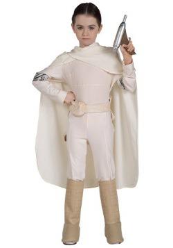 Disfraz de Padme deluxe para niños