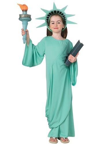 Disfraz infantil de la Estatua de la Libertad