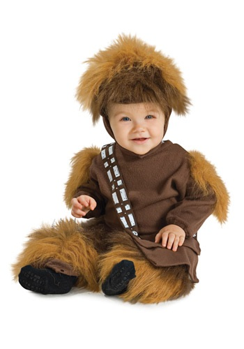Traje de Chewbacca para niños pequeños