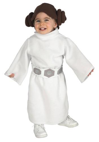 Disfraz de la Princesa Leia para niños pequeños