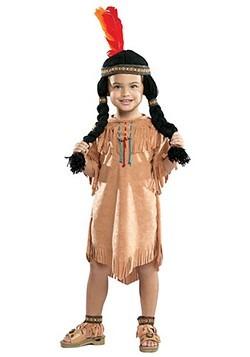 Disfraz de niña india para niño