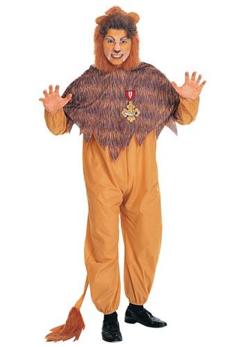 Disfraz de león cobarde para adulto