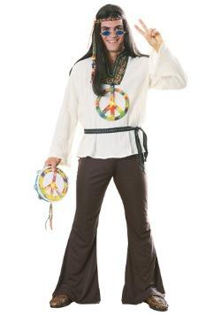 Disfraz en onda de hippie para adulto